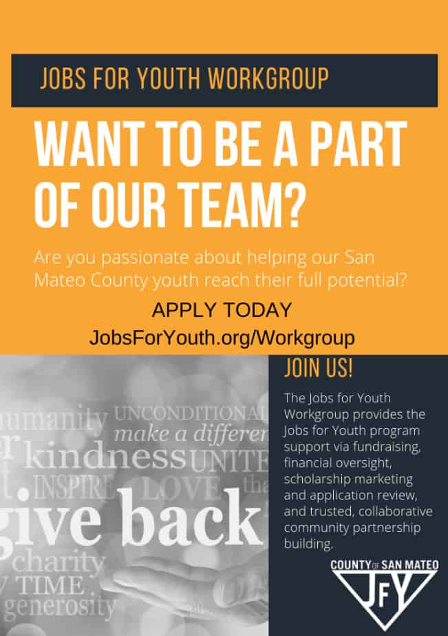 Become a JFY Workgroup member!